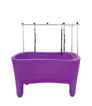 Baignoire Grand Modèle Sur Pied Violet