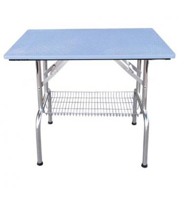 Table pliante à plateau antidérapant sans roulettes (PM)