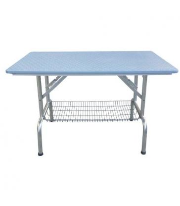 Table pliante à plateau antidérapant avec roulettes (GM)