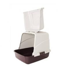 Maison de toilette simple bordeaux