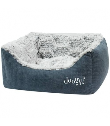 Sofa ouatinée Doogy Whooly bleu