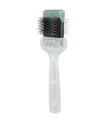 Brosse Activet medium - simple paillettes vertes
