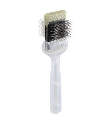 Brosse Activet souple - simple paillettes or