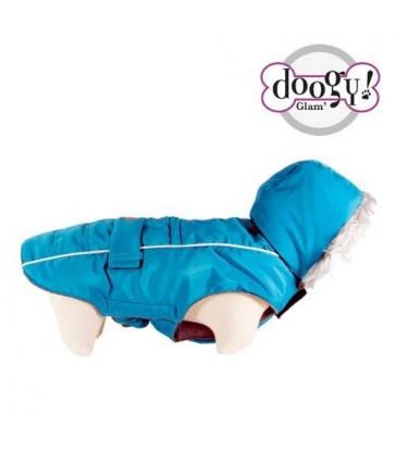 Doudoune Softy Bleu