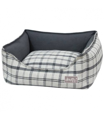 Sofa ouatinée Doogy quadry gris