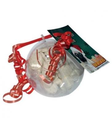 Boule de Noël Friandises Pour Chien