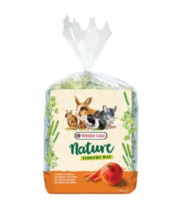 Foin Nature Timothy Hay carotte et potiron