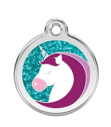 "Médaille Red Dingo ""licorne"""