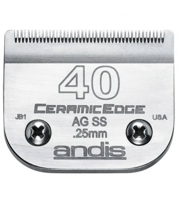 Tête de coupe ceramic edge n°40SS Andis