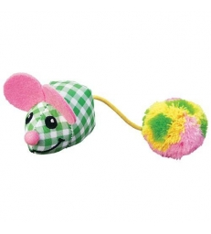 Jouet KONG® Kitten Pom Tail Mouse