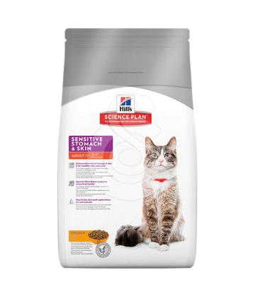 Feline Adult Sensitive Stomach & Skin Poulet