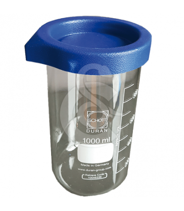 Becher en verre gradué pour nettoyeurs à ultrasons