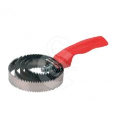Etrille métallique ronde