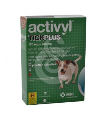Activyl Tick Plus Chien 5-10 kg