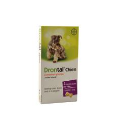 Drontal Chien . Boîte de 4 comprimés