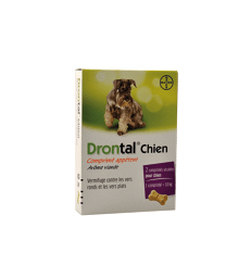 Drontal Chien .Boîte de 2 comprimés