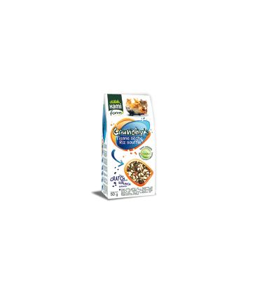 Friandises rongeurs tisanes sèches/riz soufflé