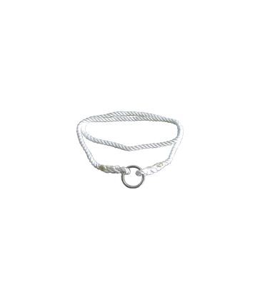 Lac de vêlage en polyamide avec anneau métal