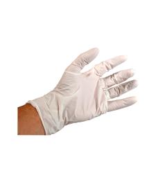 Gant examen nitrile blanc UU . T 6/7 - S - Sachet de 100 - Non stérile non poudré