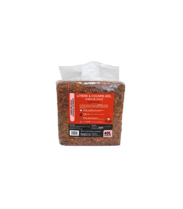 Litière et Couvre sol Chips Coco Spécial Basse-Cour