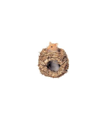 Nid végétal pour hamster