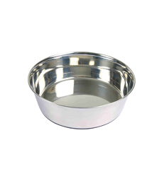 Gamelle en inox . D : 24 cm - 2500 ml