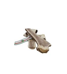 Bois de cerf coupé (Easy) à mâcher Farm Food . Taille XL - 226 à 320 g