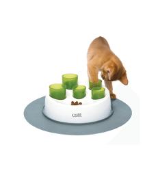 Jouet chat distributeur : tubes à croquettes Catit Senses .