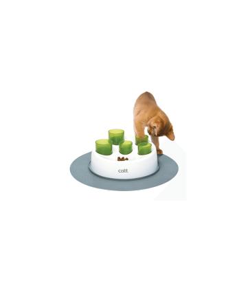Jouet chat distributeur : tubes à croquettes Catit Senses
