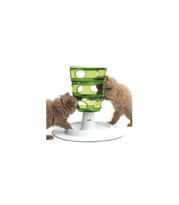 Jouet chat éducatif : labyrinthe à croquettes Catit Senses