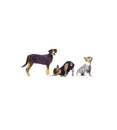 Gilet Pet Shirt pour chien .M+ - Lg : 61-72 cm - Bleu marine