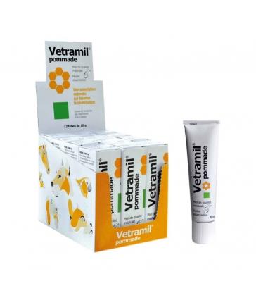 Vetramil pommade - Boîte de 12 tubes de 10g