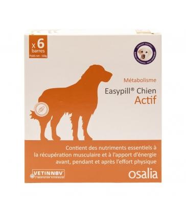 Easypill Chien Actif - Boîte de 6 barres