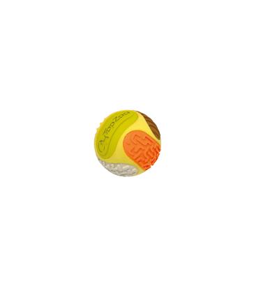 Jouet chien Topzoo : Balle 5 sens