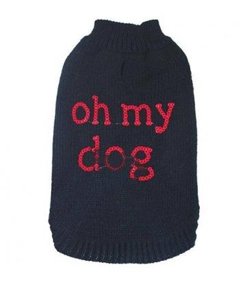 Pull Fantaisie Noir Oh My Dog