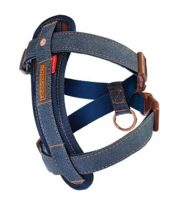 Harnais Ezydog Chest Plate Denim