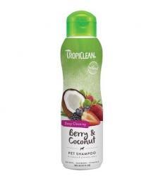 Shampooing Tropiclean Fruits Rouges et Noix de Coco