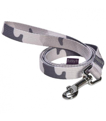 Laisse Easy Camouflage Bobby Gris