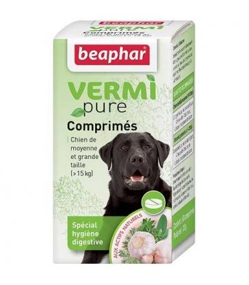 Vermipure comprimés pour grand chien Beaphar