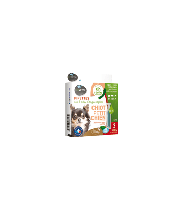 Biovetol Pipettes Chiot/Petit chien