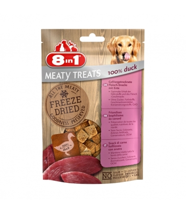 FRIANDISE FREEZE DRIED CANARD 8in1 Sachet 50 g