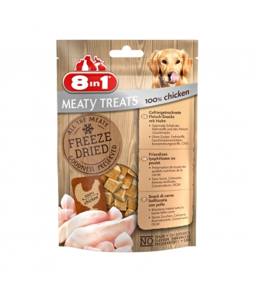 FRIANDISE FREEZE DRIED POULET 8in1 Sachet 50 g