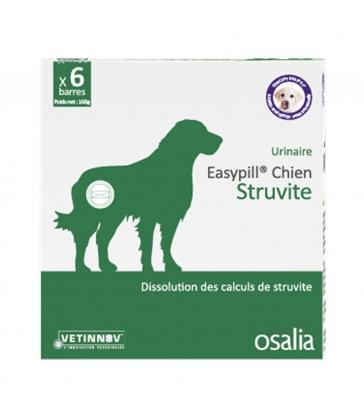 Easypill chien struvite - Boîte de 6 barres de 28 g