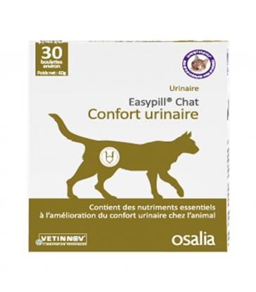 Easypill chat confort urinaire - Boîte de 30 boulettes
