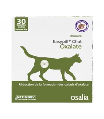 Easypill chat oxalate - Boîte de 30 boulettes