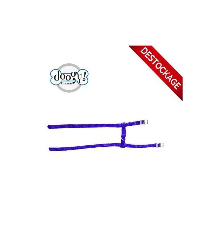 Harnais nylon H bleu Gamme Unique