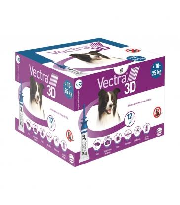 VECTRA 3D 10-25KG x 12 PIPETTES