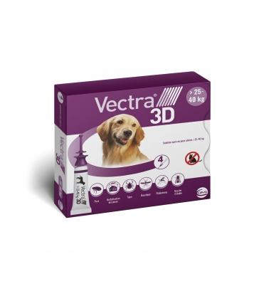 VECTRA 3D 25-40 KG  x4 PIPETTES