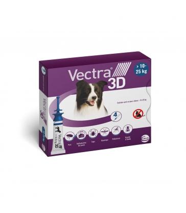 VECTRA 3D 10-25KG x 4 PIPETTES