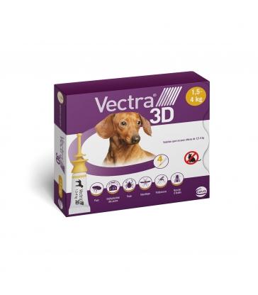 VECTRA 3D 1.5-4KG x 4 PIPETTES